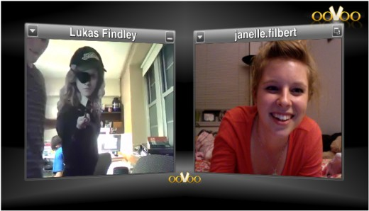 Oovooing with Lukas...and Hermione Granger.