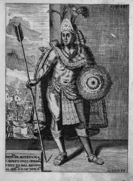 Depiction of Moctezuma II