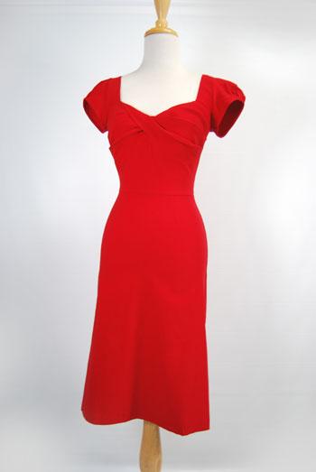 1940's wiggle dress