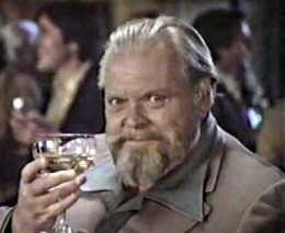 Filmmaking genius and Oscar winner Orson Welles, a Taurus, became an obese alcoholic and shill for cheap wine.