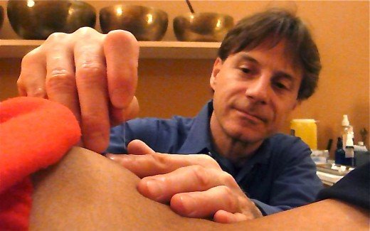 """Lars is trained in several traditional and natural healing modalities; he refers to himself as a """"body electrician"""""""