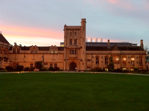The main building of Mansfield College, Oxford