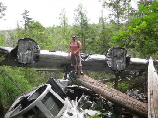 Crashed Canso - Tofino, BC