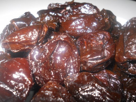 Prune - My favorite - I eat 5 prune/day