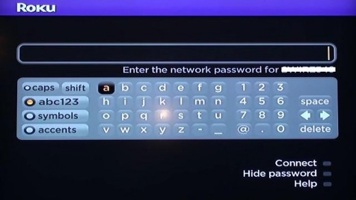 Enter the password associated with your wireless network if you're prompted.