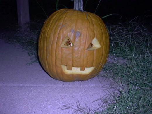 Halloween last year.