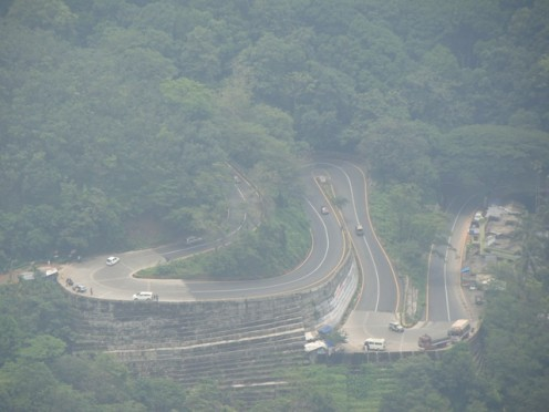 The gateway of Wayanad - Thamarassery mountain pass