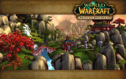 Loading screen for new MoP content.