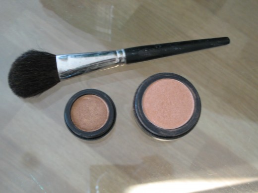 My mineral cosmetics/brush
