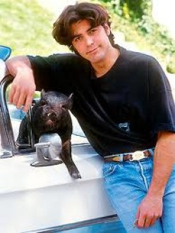 Max was Clooney's pet for 18 years. He was laid to rest in 2006. Max was actually purchased for George's then girlfriend Kelly Preston who later married John Travolta.