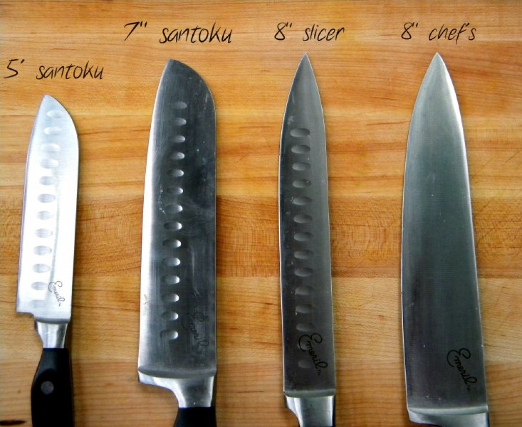 types of kitchen knives and how to use them hubpages. Black Bedroom Furniture Sets. Home Design Ideas