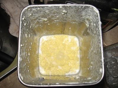 Butter balls start forming (step #1)