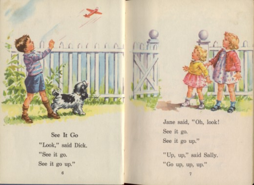 A Dick and Jane book