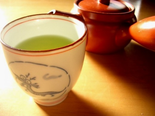 Have a cup of green tea at least 3 times a day.