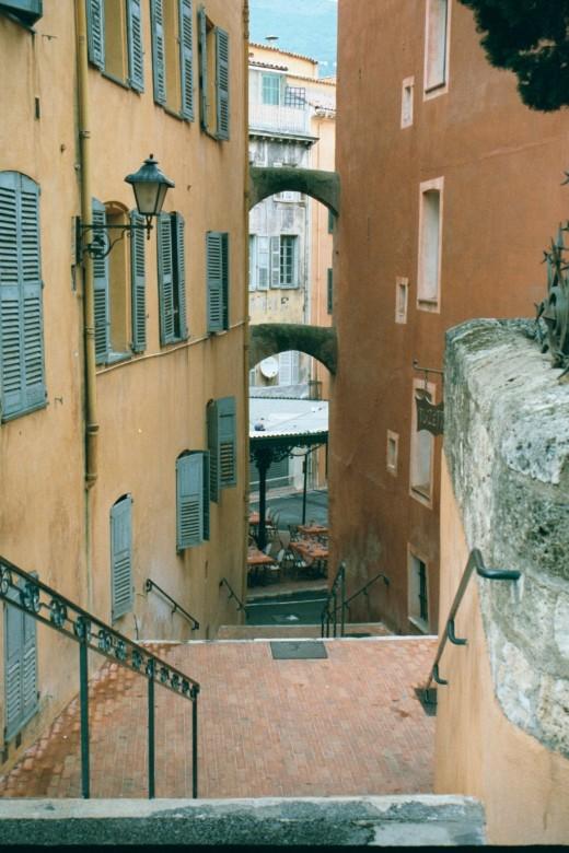 Stairway in Vieille Grasse