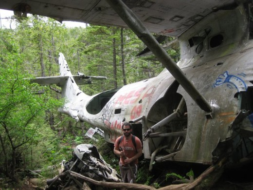 Tofino Canso Crashed Plane
