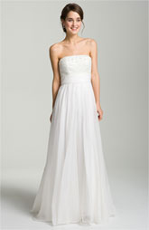 Wedding gown just under $1000