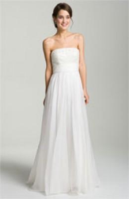 Wedding gown just under $1000