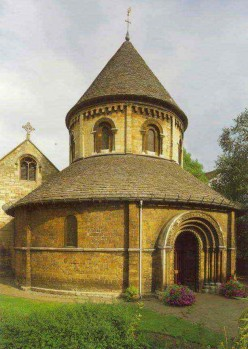 The Church of the Holy Sepulchre, Cambridge, originally built in the early 12th century