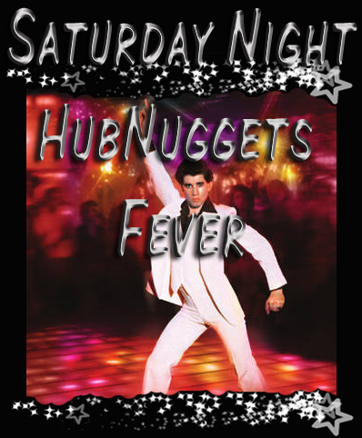 Saturday Night Fever title by Elle Fredine; adapted from Paramount Pictures poster