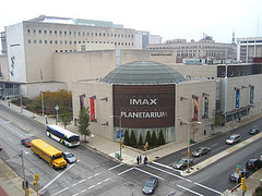 Milwaukee Public Museum and Imax Dome by kjv31 on Flickr