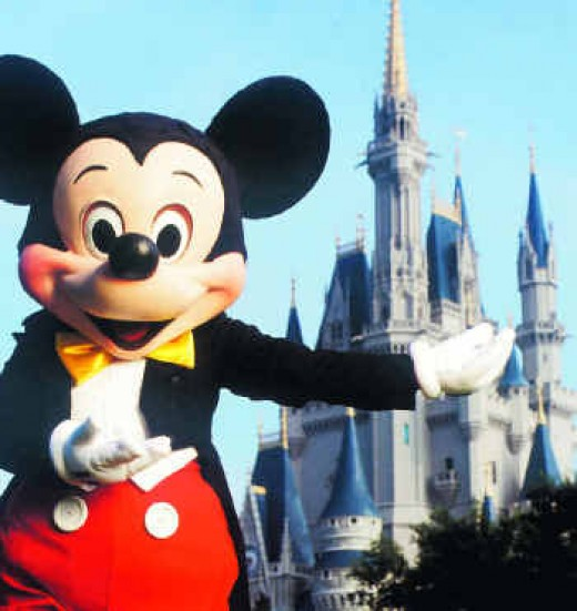 Going to the college that Mickey built!