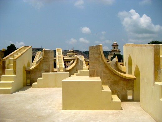 The fabulous Jantar Mantar in Jaipur