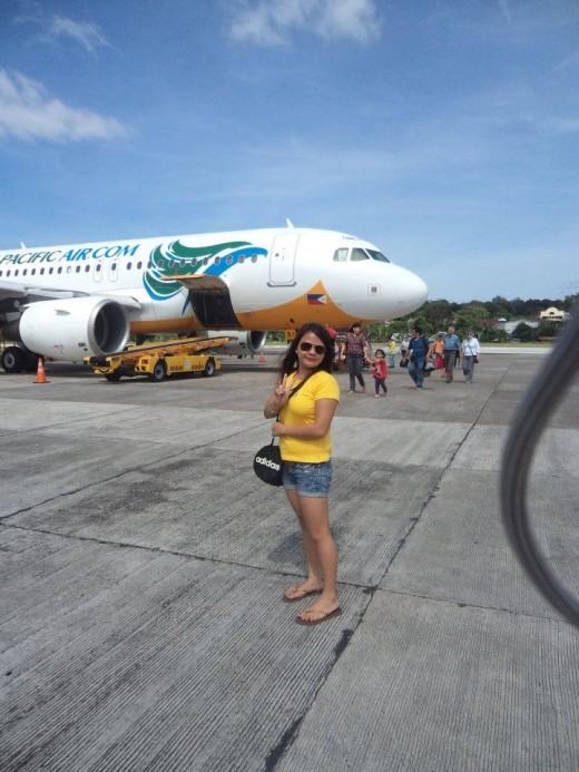 At the Tagbilaran City airport in Bohol (All Photos taken by Khela and friends, March 10, 2012)