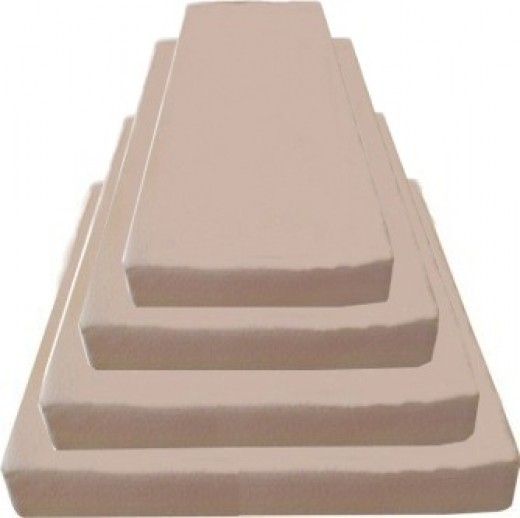 Memory foam mattress stack