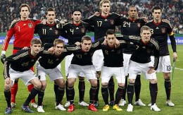Germany's World Cup 2010 team.