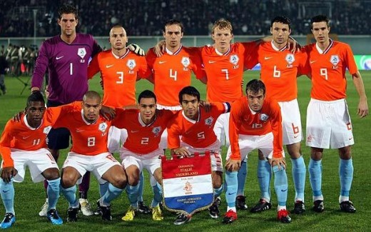 Holland's World Cup 2010 team.