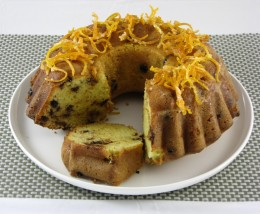 Chocolate Chip Pound Cake. To make this, simply add chocolate chips to the mixture in step 6 and mix them through the blend.