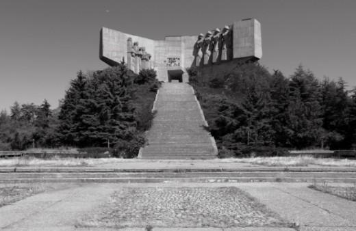 Park-Monument of the Bulgarian-Soviet friendship, Varna, Bulgaria. Built in 1978
