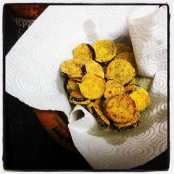 Simple Southern Fried Eggplant