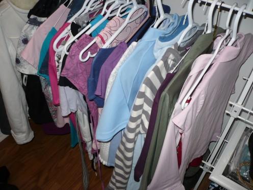 Summer clothes. Peek-a-boo!