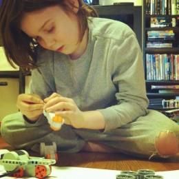 Building with LEGO Mindstorm