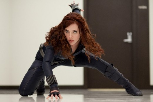 The Black Widow in Iron Man 2
