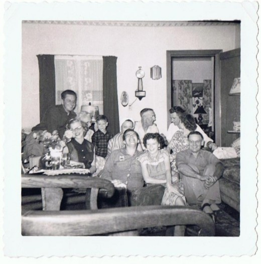 My father's side of the family....all gone now.