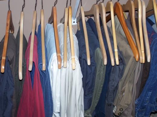 hanging pants