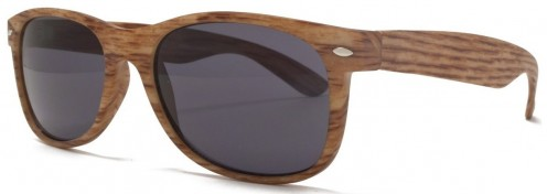 Baghdad retro style wood effect sunglasses