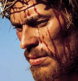 Willem DaFoe as the Suffering Christ