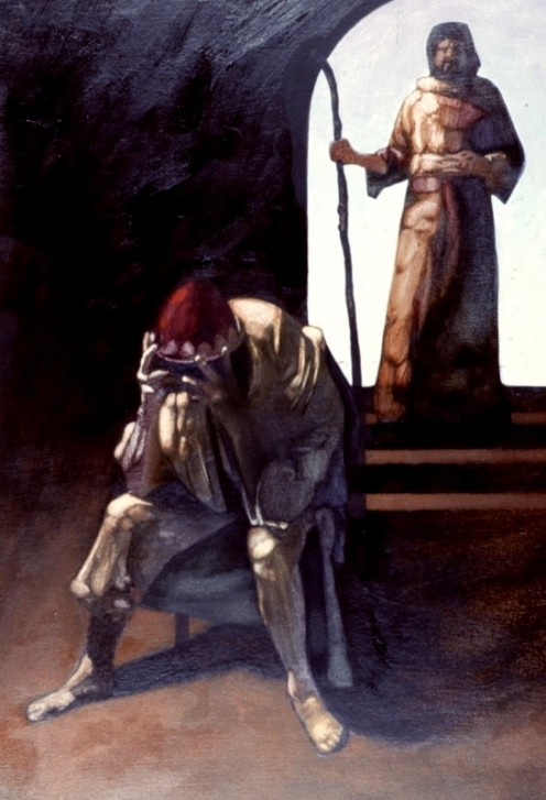 When David sinned against Bath-sheba and her husband Uriah, God sent the Prophet Nathan to tell David of his sin and punishment (2 Samuel 12; 1 Chronicles 20:1-3).