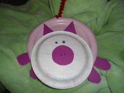 Cute Artwork Ideas For Paper Plates, Part 1