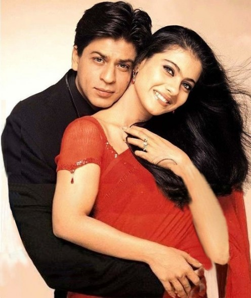 Shahrukh Khan and Kajol in Kabhi Khushi Kabhi Gham.