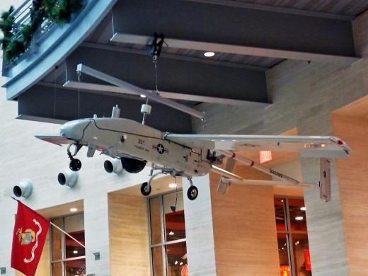 A 3D model of a Pioneer UAV