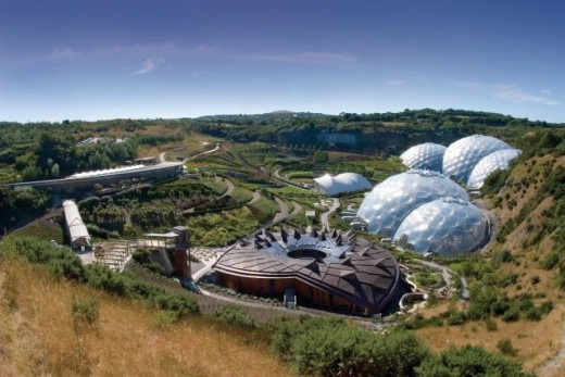 The Eden Project From The Outside