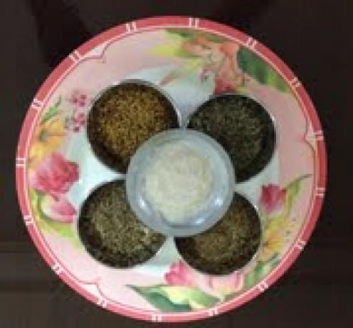 Hi Five Spices..Fenugreek seeds, Cumin seeds, Carom seeds, Fennel seeds, Asafoetida powder..