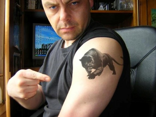 04. Panther Tattoo