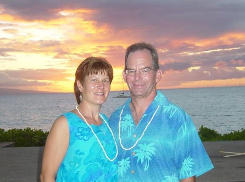 25th Wedding Anniversary in Hawaii