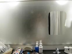 How do fog-less shower mirrors work?